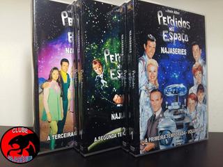 Dvd Perdidos No Espaço - Serie Completa E Dublada (23 Dvds)