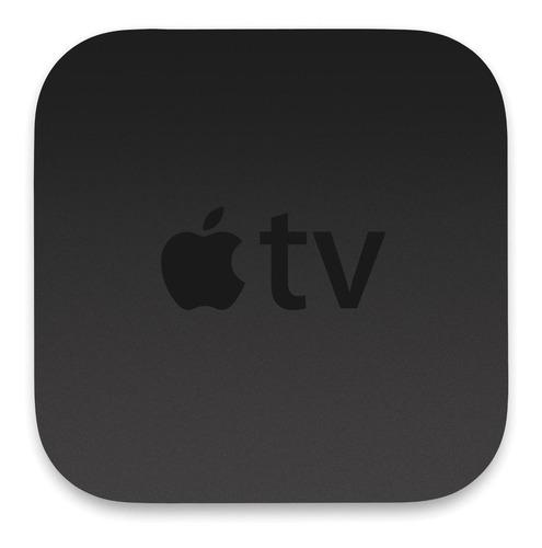 Imagem 1 de 2 de  Apple Tv 4k A1842  De Voz 4k 64gb  Preto 12x S/juros