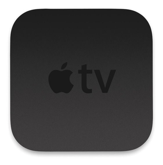 Streaming media player Apple TV 4K A1842 de voz 64GB preto com memória RAM de 3GB