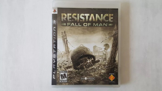 Resistance Fall Of Man - Jogo Original Para Ps3 Mídia Físico