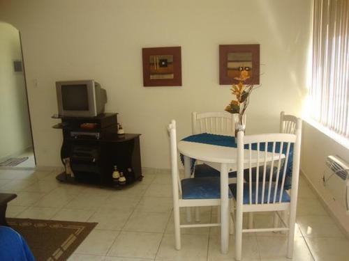 Apartamento Com 1 Dormitório Para Alugar, 60 M² - Boqueirão - Santos/sp - Ap5339