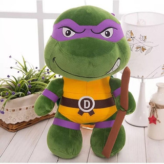 Peluche Tortugas Ninja Donatello 25cm. Precio Por 1 Unidad.