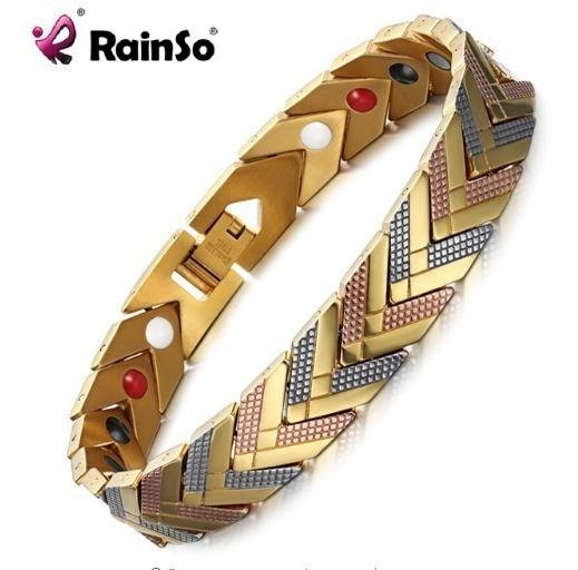 Pulseira Magnética Bracelet Feminino Aço Inoxidável