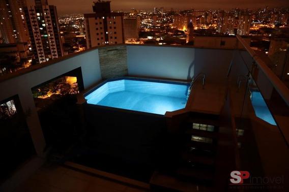Apartamento Cobertura Para Venda Por R$1.000.000,00 - Chacara Santo Antonio Zl, São Paulo / Sp - Bdi22109