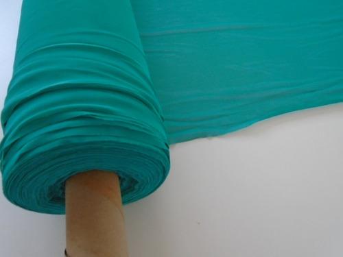 Tule Liso Com Elastano Para Camisolas Saldo De Indústria
