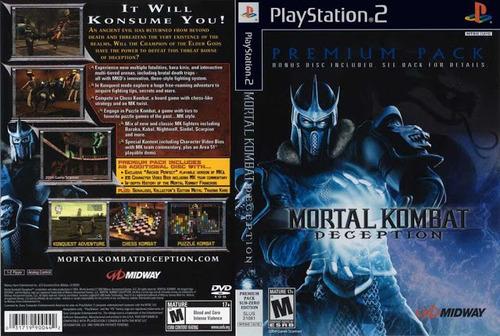 Imagem 1 de 6 de Mortal Kombat Deception - Ps2