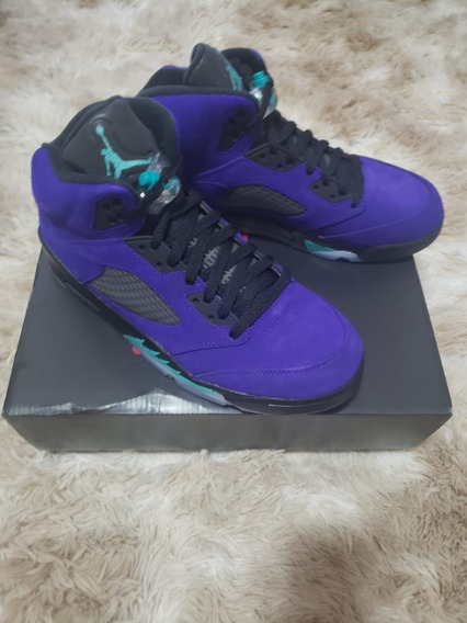 Air Jordan 5 Purple Grape