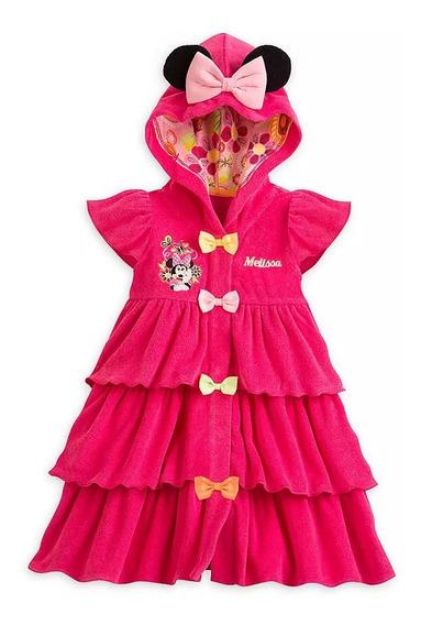 Roupao Disney Original Minnie Rosa Novo