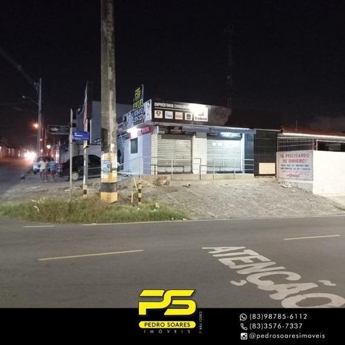Imagem 1 de 3 de Ponto Para Alugar, 310 M² Por R$ 12.000/mês - Treze De Maio - João Pessoa/pb - Pt0035