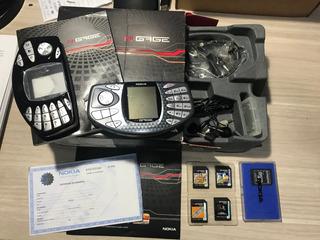 Nokia Ngage C/ Caixa Manual E Jogos