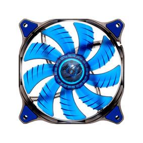 Ventilador De Refrigeración 12cm Led D12hb Azul Cougar