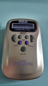 Radio Walkman Rca Rp1667 Só Am Fm Estéreo