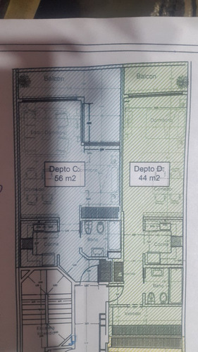 Departamento De 1 Ambiente San Cristobal