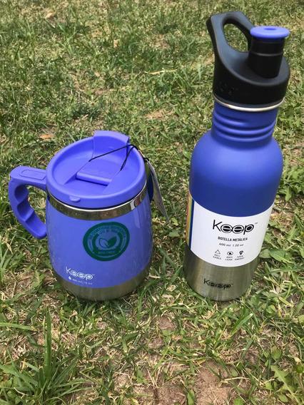 Set Mug Y Botellita Keep!