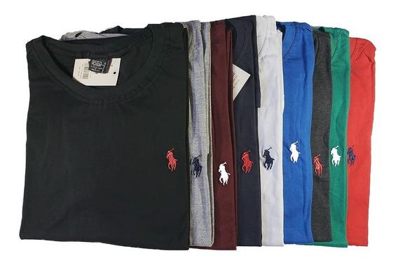 Melhor Preço Kit 7 Camiseta Gola Redonda G1 G2 G3 G4+brinde