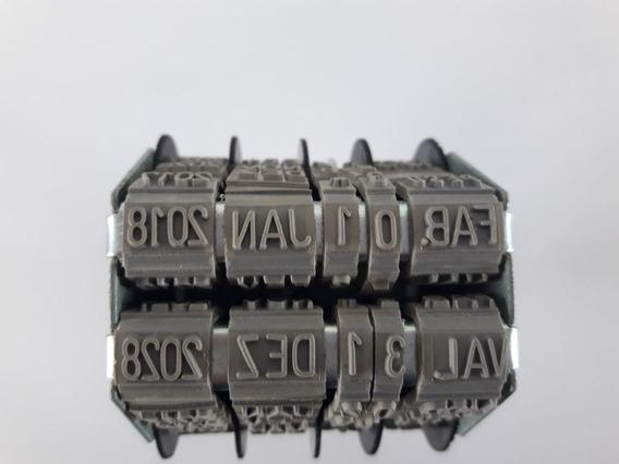 Datador Duplo Sobreposto Com Fabr/vali/lote - 5mm Ate 2028