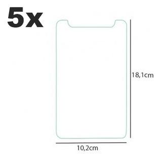 5 Películas Universal Vidro P Tablet 7 Multilaser M7 Atacado