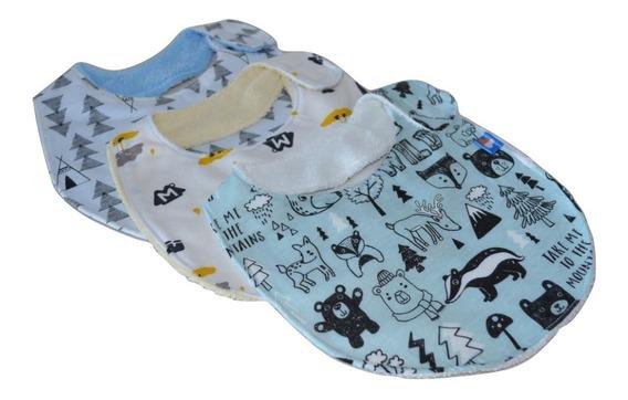 Baberos Para Bebé. Extra Suaves Kit De 4 Baberos