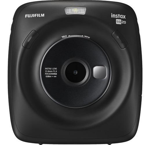 Cámara Instántanea Fujifilm Instax Square Sq20 Negro