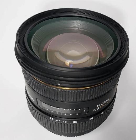 Lente 24-70 Nikon 2.8