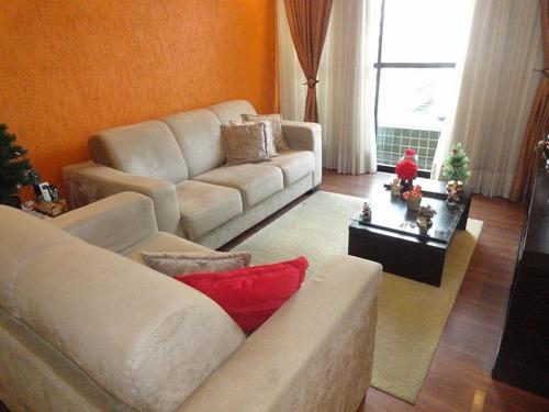 Apartamento À Venda, 107 M² Por R$ 540.000,00 - Embaré - Santos/sp - Ap2444