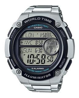 Reloj Casio Digital Ae 3000wd Wr100m Oficial 2 Años Garantia