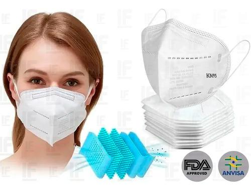 Kit 20 Máscaras Respiratória Proteção Facial 5 Camadas Kn95