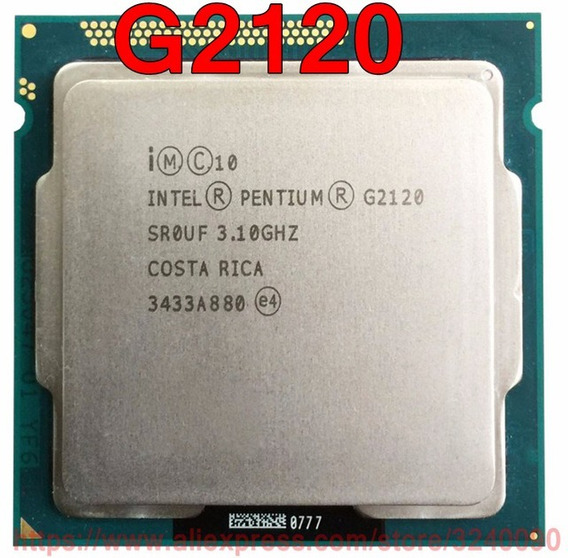 Processador Intel Pentium Dual Core G2120 3.10ghz 1155