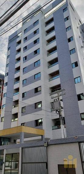 Apartamento Com 2 Dormitórios À Venda, 65 M² Por R$ 330.000 - Jatiúca - Maceió/al - Ap0412