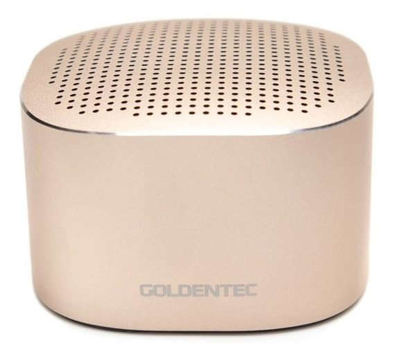 Caixa De Som 3w Bluetooth Gt Pure Gold Goldentec