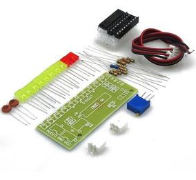 Kit Para Montar Vu De Led - Indicador Nível De Audio -lm3915