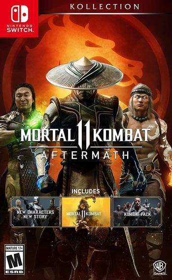 Mortal Kombat Aftermath 11 -lançamento Dia 19/06 - Switch !