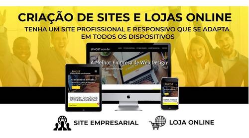 Imagem 1 de 7 de Desenvolvimento De Site Ou Loja Virtual - Web Designer