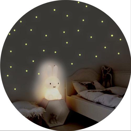 Pack De 100 Estrellas Que Brillan En La Oscuridad