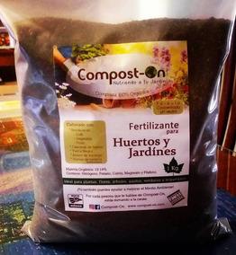 Caja 20 Pzs De 1 Kgs Composta Orgánica Compost-on