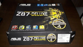 Asus Z87 Deluxe + I5 4690k - Ótimo Desempenho