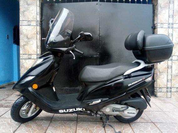 Suzuki Burgman 125i 2013 Completa!