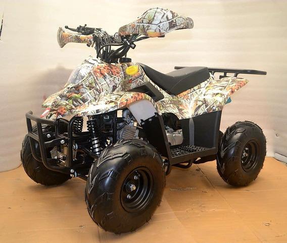 Catri Infantil Nueva 110cc Graficos De Camuflaje 4 Tiempos