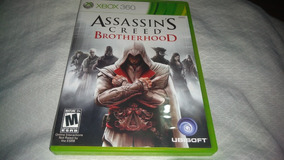 Assassins Creed Brotherhood - Xbox 360 - Completo