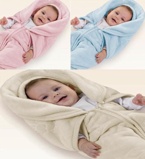 Manta Baby Sac (saco De Dormir E Cobertor) Da Jolitex