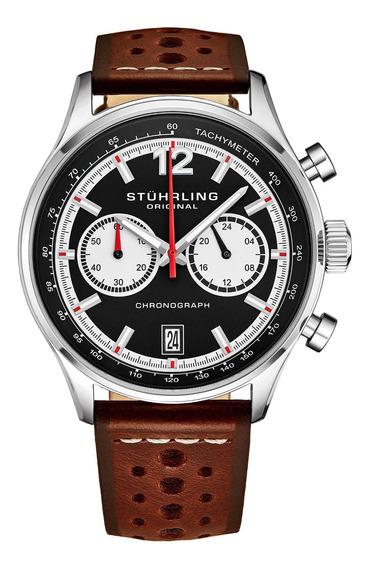 Relógio Stuhrling - Monaco 933 Quartz 42mm Chronograph