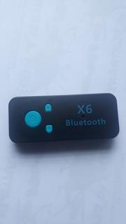 Adaptador Bluetooth Com Entrada Sd E Sai Da P2 Auxiliar