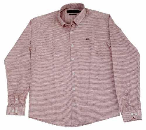 Camisa Ogochi Masculina Rosa 001418582