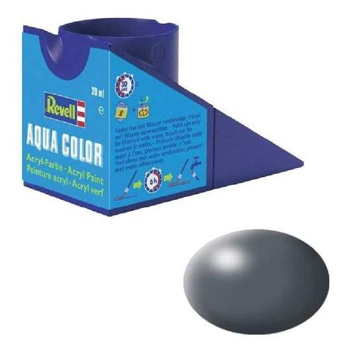 Tinta Acrílica Dark Grey Silk Ral 7012 18ml Revell 36378