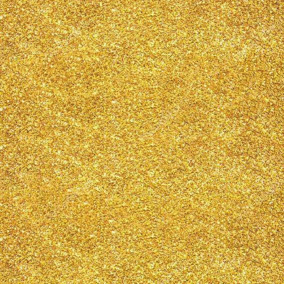 Glitter Purpurina Pó Brilho - Decoração - Dourado - 500g