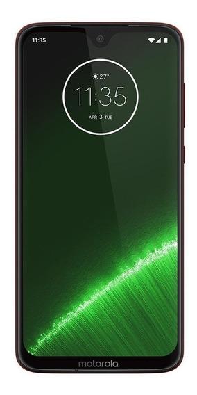Motorola Moto G G7 Plus Dual SIM 64 GB Rubí 4 GB RAM