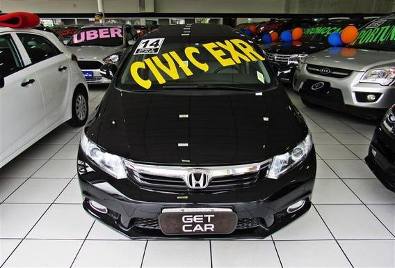 Honda Civic 2.0 Exr 16v Flex 4p Automático 2013/2014