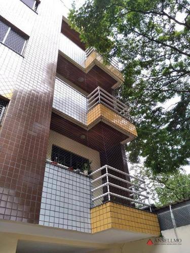 Apartamento Duplex Com 3 Dormitórios À Venda, 140 M² Por R$ 795.000,00 - Jardim Do Mar - São Bernardo Do Campo/sp - Ad0012