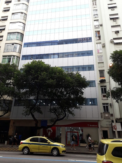 Linda Sala Comercial Com 38 M² No Melhor Ponto De Copacabana
