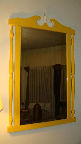Espejo De Diseño Intervenido 91 X 62